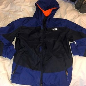 Champion Blue and Orange Rainjacket